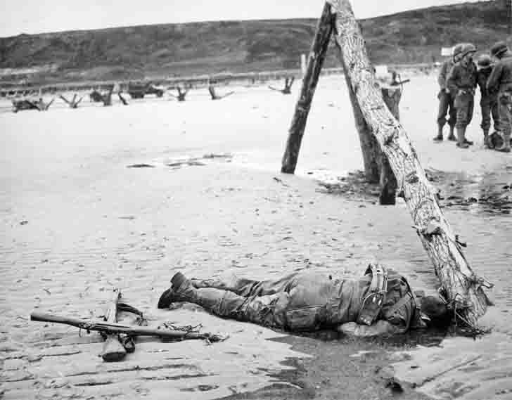 US marines killed on Omaha beach