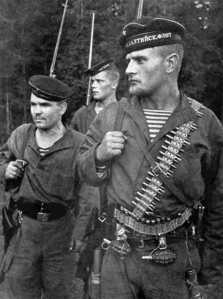 Soviet Marines of the 2nd Separate Brigade of the Baltic Fleet