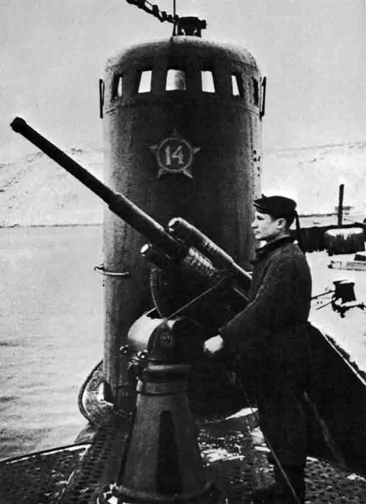 "Soviet ""M-171"" submarine"
