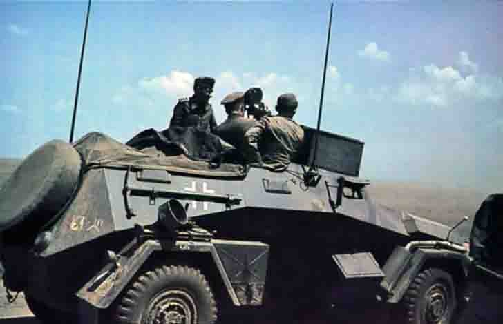 Sd.Kfz.247 armored car