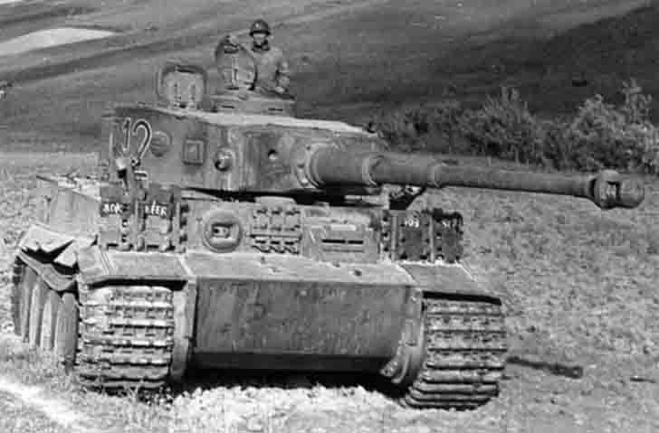 "Pz.Kpfw. VI ""Tiger"" heavy tank of the 501st tank battalion in Tunis"