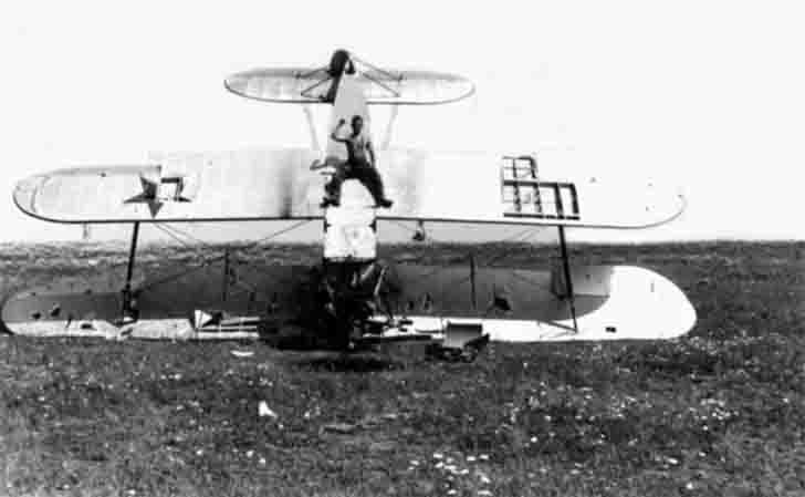 U-2 biplane