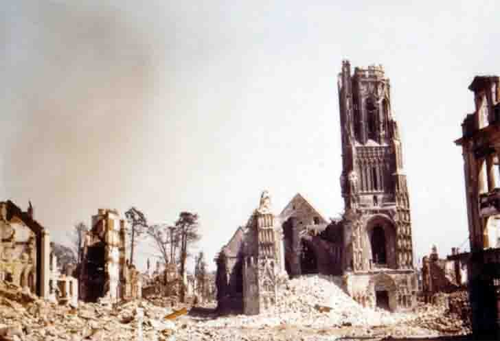 Dresden after the carpet bombing