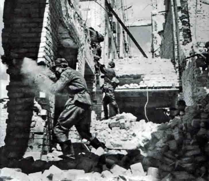 Urban combat in Stalingrad