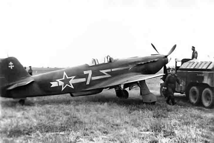 Yak-3 fighter of the Normandie-Niemen regiment