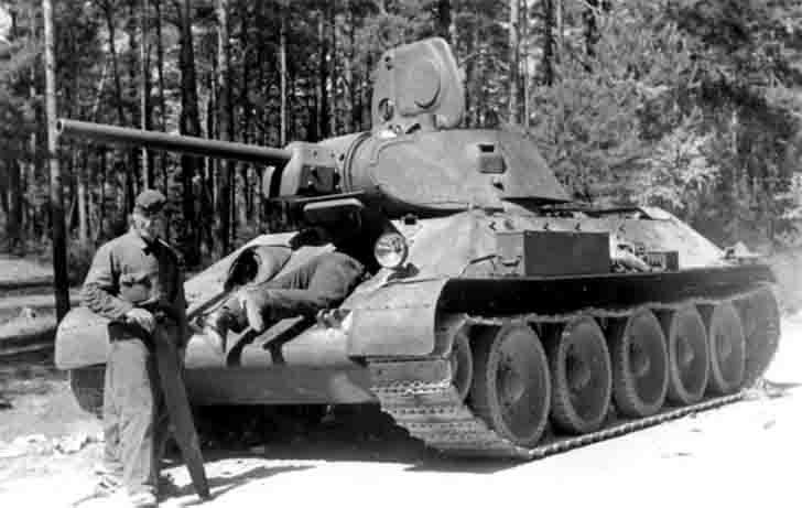 T-34-76 medium tank