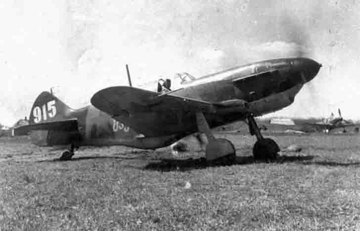 "LaGG-3 fighter №915 ""For Soviet Georgia"""