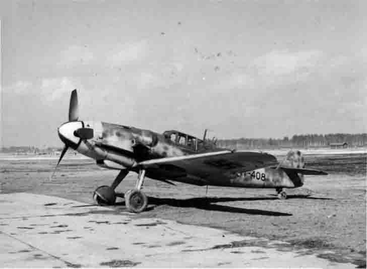 German Messerschmitt Bf.109G-6 fighter