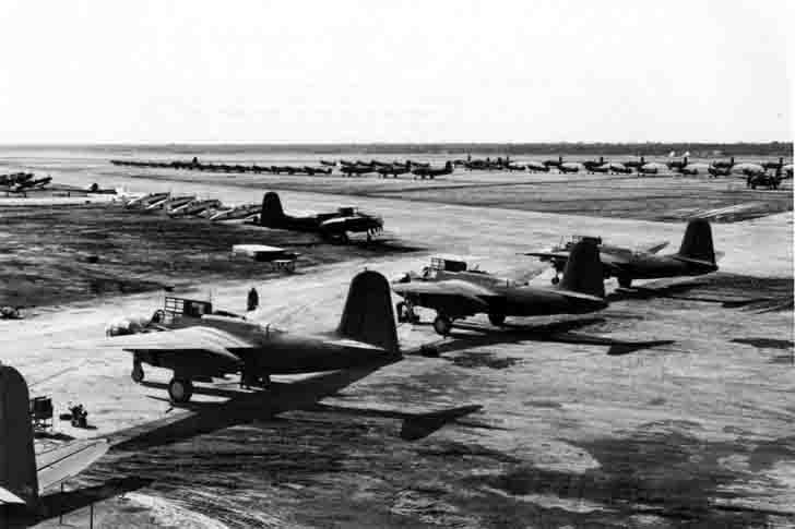 "A-20 ""Boston"" bombers and other US aircraft in Iran"
