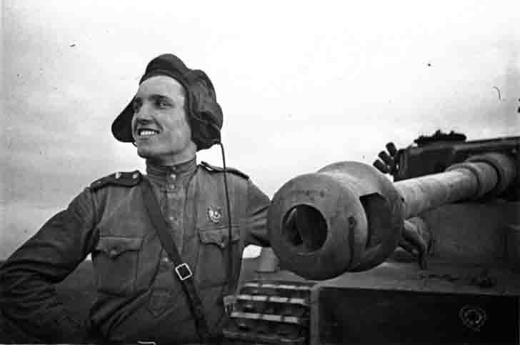 Tankman fighter Ivan Shevtsov