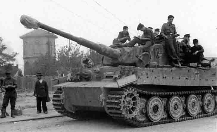 "PzKpfw VI ""Tiger"" heavy tank on the Western Front"