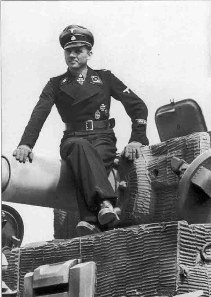 SS-Hauptsturmführer Michael Wittmann - Nazi tank ace