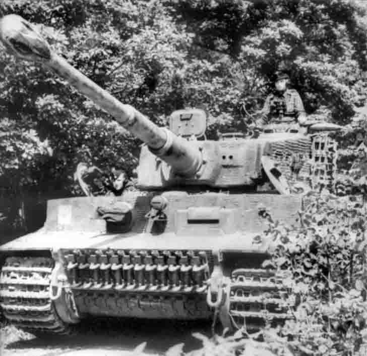 """""""Tiger"""" heavy tank of SS-Unterscharführer Kurt Kleber"""