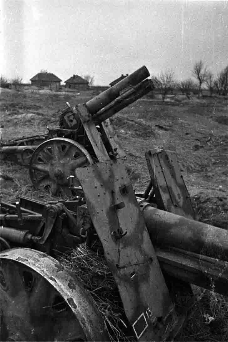 German sIG-33 guns in the Battle of Kursk