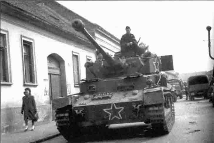 PzKpfw IV medium tank of the 1st Bulgarian Army