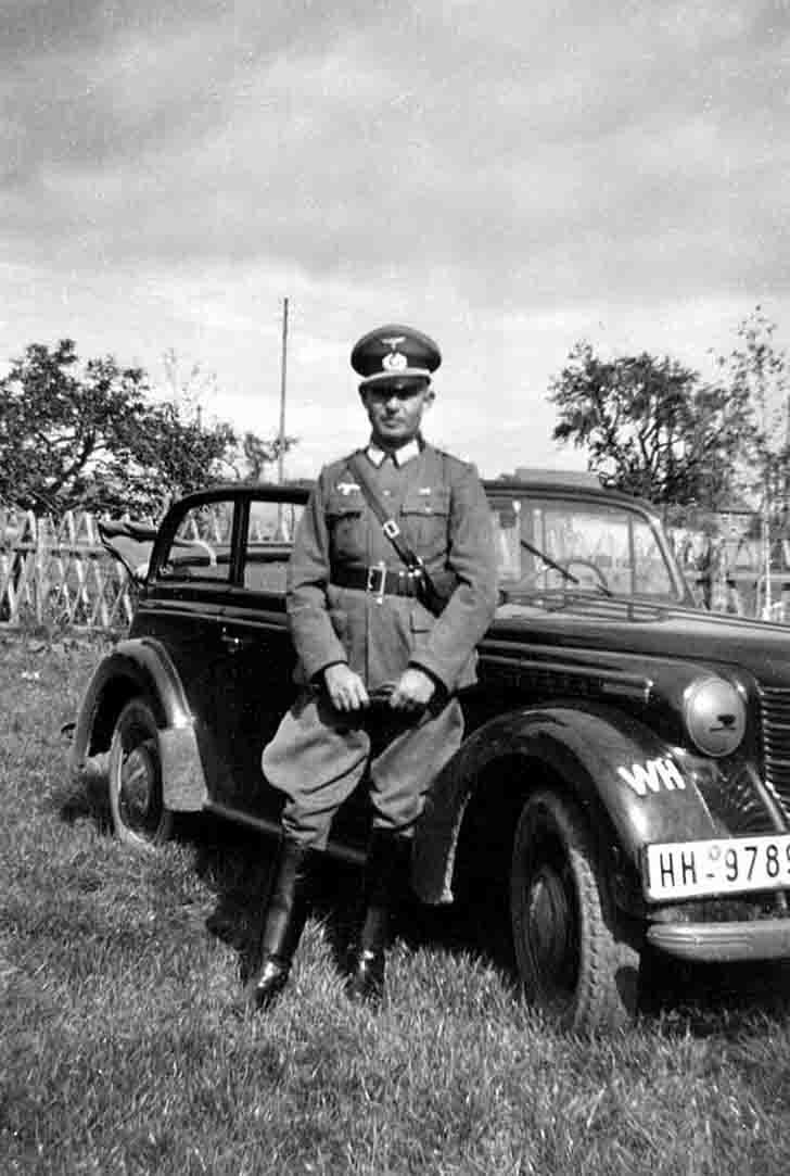 """""""Opel Olympia"""" passenger car"""