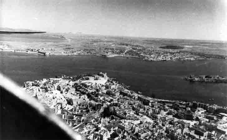 Liberated Sevastopol aerial view