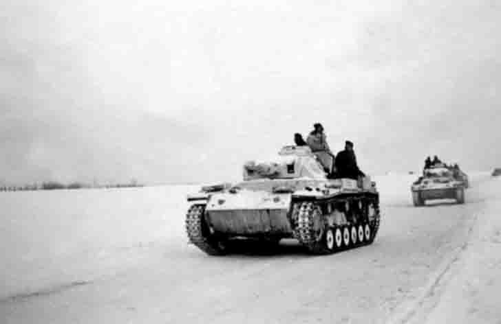 Pz.III German medium tanks