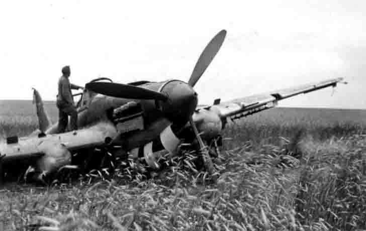 Captured Il-2 ground-attack aircraft