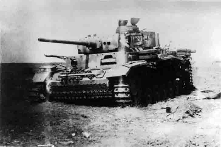 Pz.III Ausf. M destroyed in the Battle of Kursk