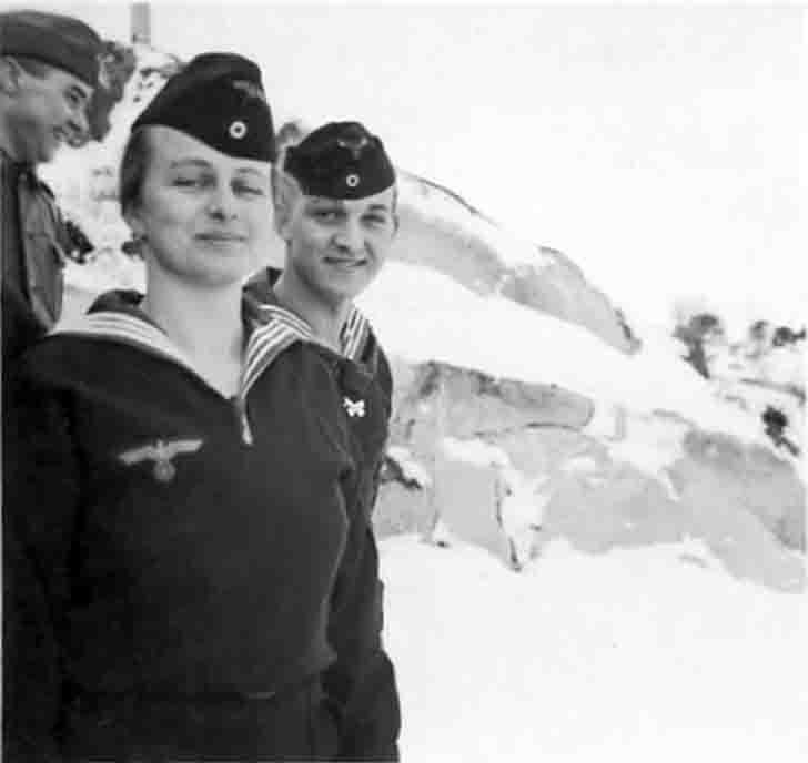 Female sailor of the Nazi Navy - Kriegsmarine