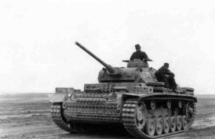 Pz.III Ausf.J medium tank