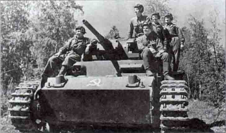 Trophy Pz.III medium tank of N.I. Baryshev