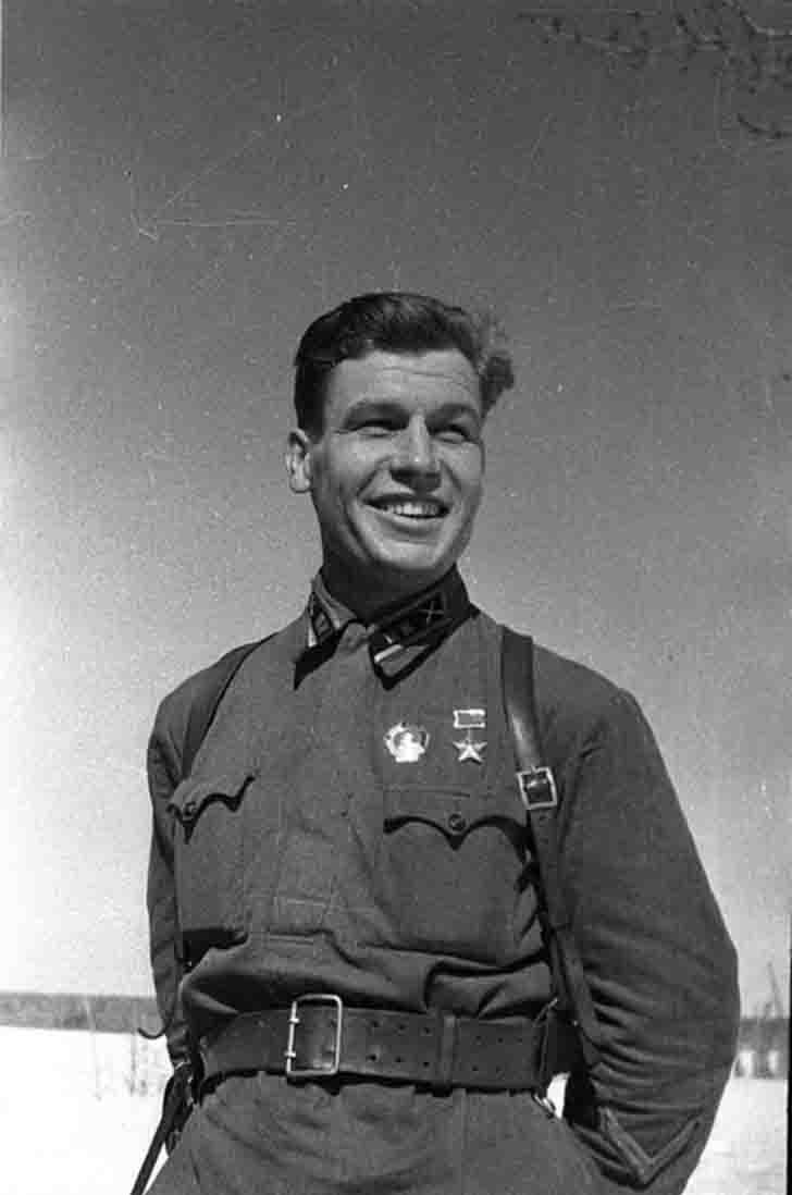Hero of Soviet Union Pyotr Stemasov