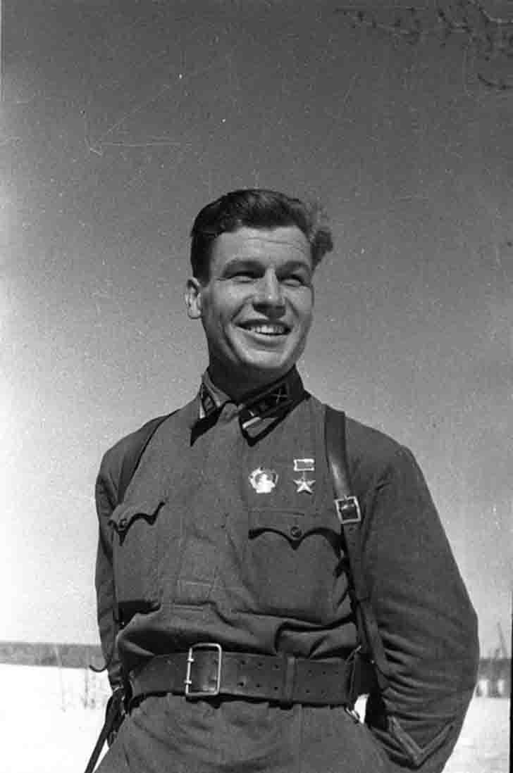Hero of Soviet Union Pyotr Stemasov