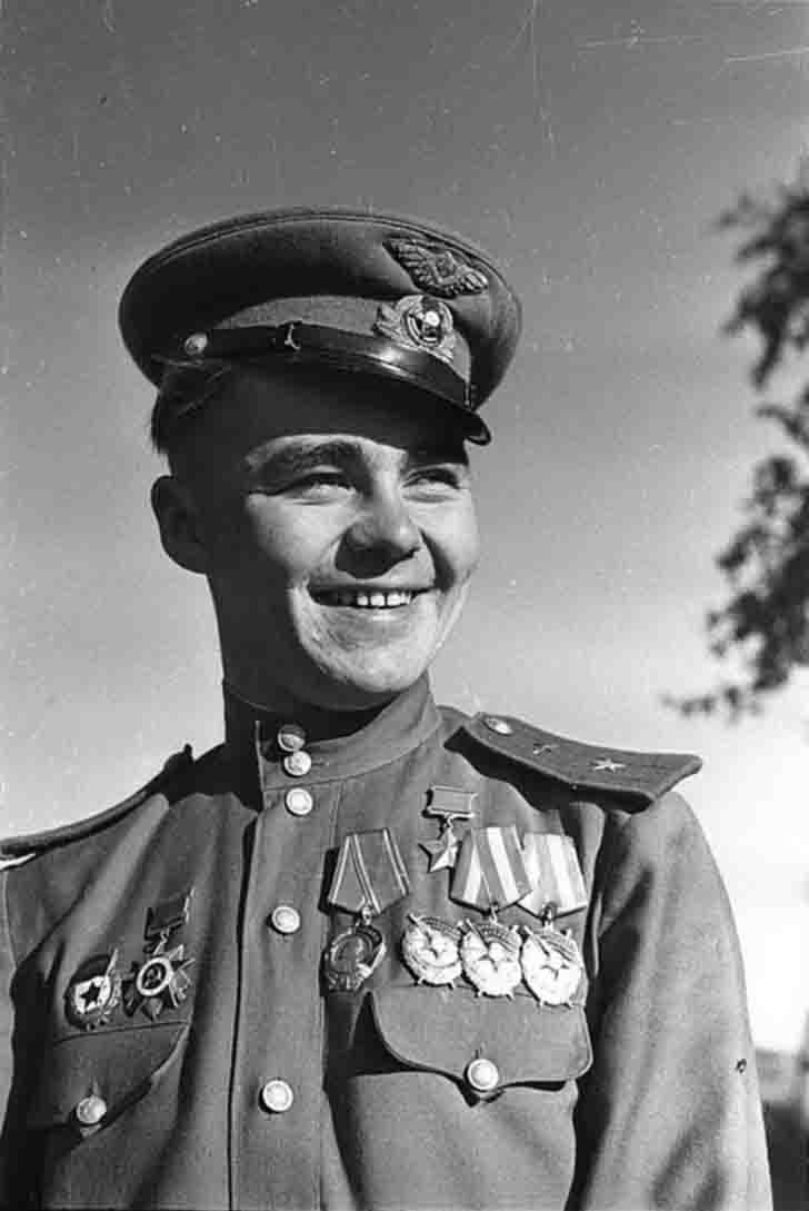 Fighter pilot, Hero of Soviet Union Nikolay Pinchuk