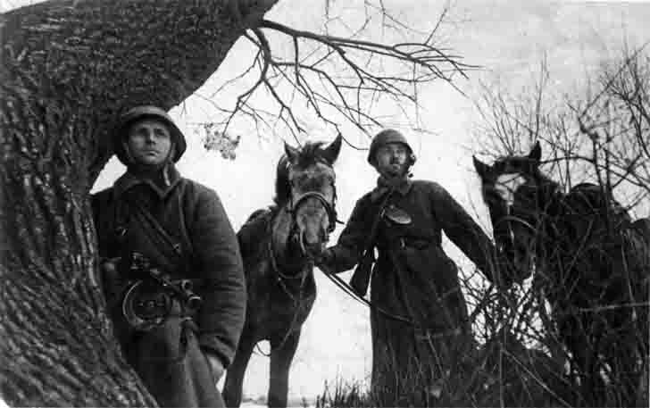 Soviet cavalry reconnaissance platoon