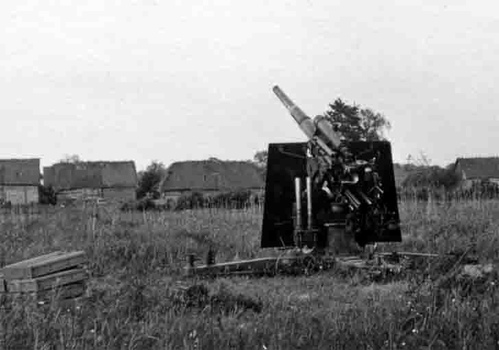 German 88-mm anti-aircraft gun 18 FlaK