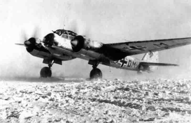 German Junkers Ju-88 bomber