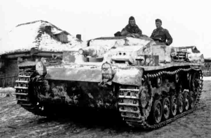 German StuG III Ausf E assault gun