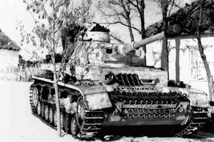 German PzKpfw IV Ausf. G Medium Tank