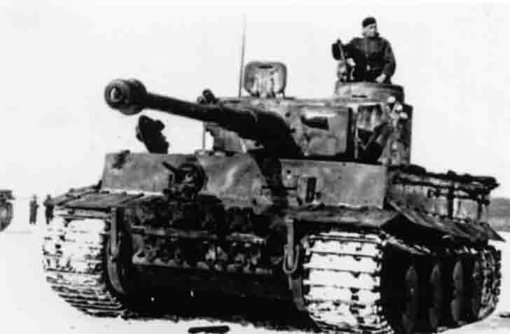 """Tiger"" heavy tank of Hauptmann Willy Lange"