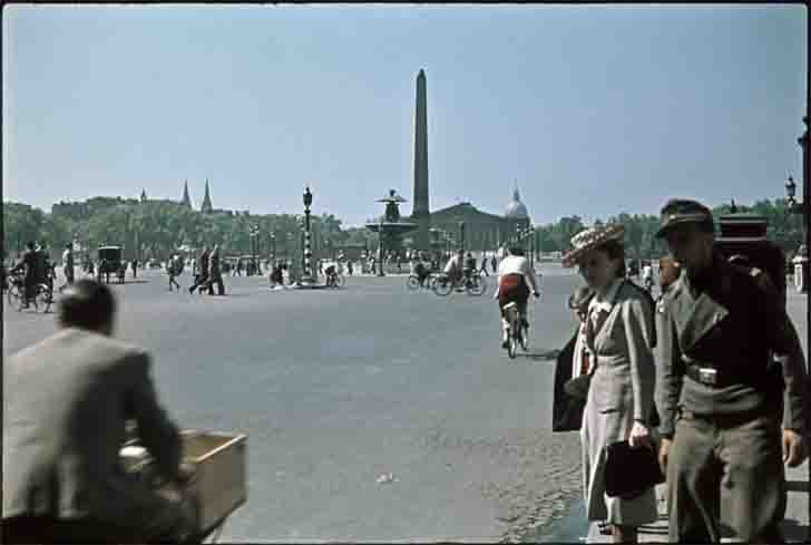 Place de la Concorde in occupied Paris
