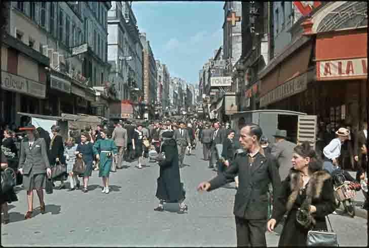 Le quartier de Belleville in occupied Paris