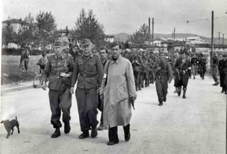 German prisoners of war in Yugoslavia