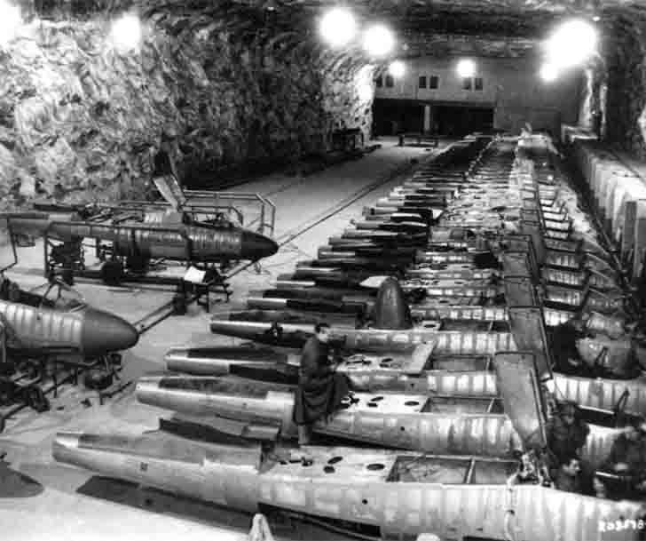 "Underground factory ""Junkers"" for the Heinkel He-162 «Salamander»"