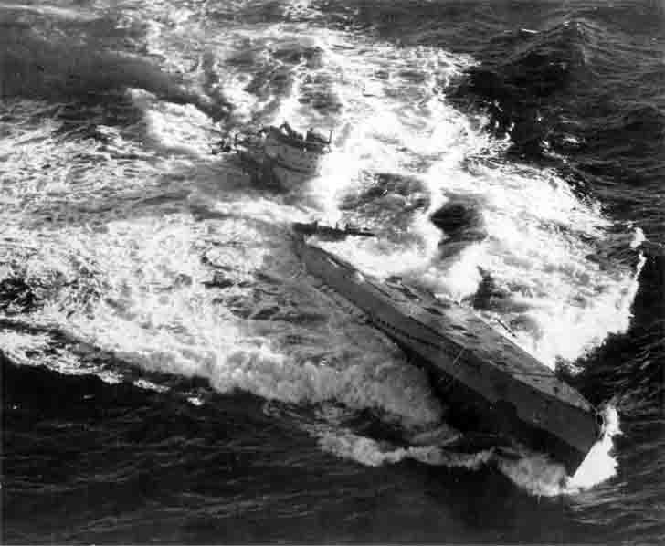 Death of Nazi U-185 submarine