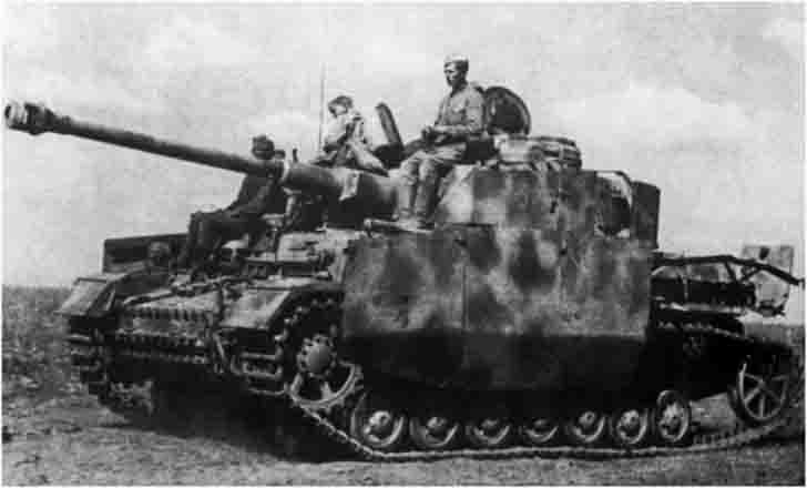 German PzKpfw IV Ausf. G medium tank in service in the Red Army