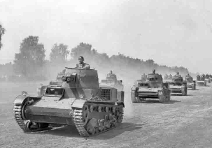 "Polish ""Vickers"" light tanks"