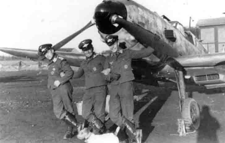 German pilots of the Messerschmitt BF.109
