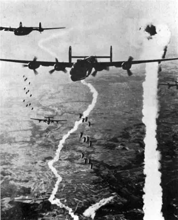 The death of the Consolidated B-24 Liberator bomber