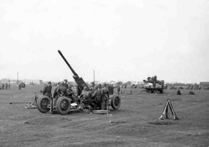 Polish 75-mm anti-aircraft gun