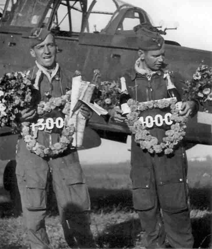 Awarding of Hans-Ulrich Rudel for 1300-th sortie