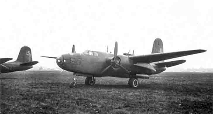 Soviet A-20G «Boston» torpedo bombers