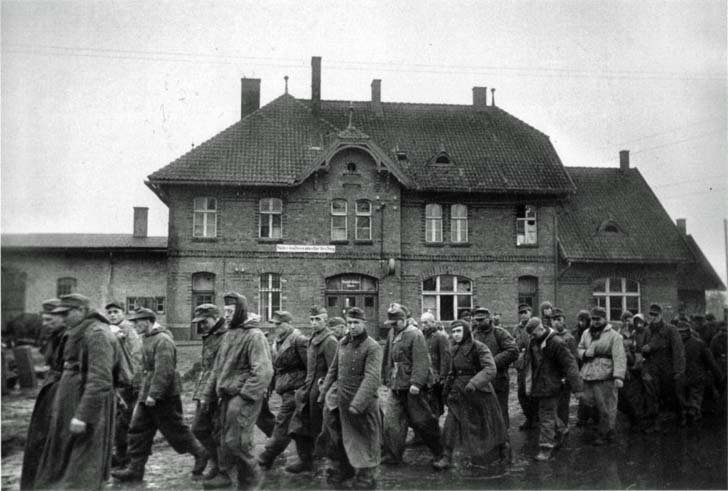 German POWs captured in the offensive zone of the 3rd Belorussian Front