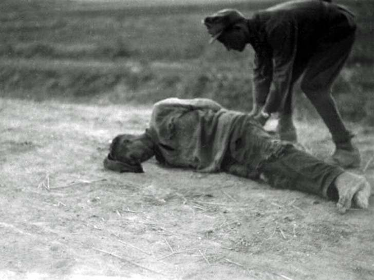 The murder of Soviet prisoners of war